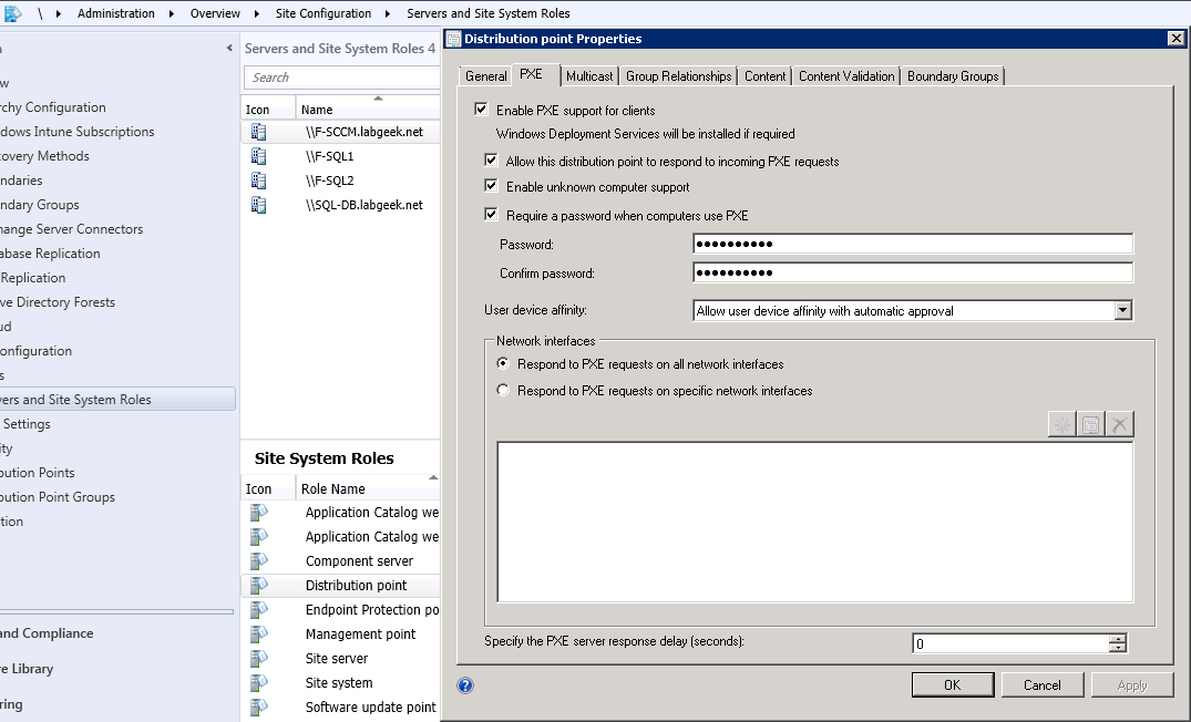 SCCM PXE OSD deployment considerations | Perfection